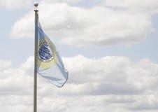 Национальный флаг Южной Дакоты Стоковое Фото