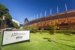 Национальный центр вина Австралии в Аделаиде Стоковое Фото