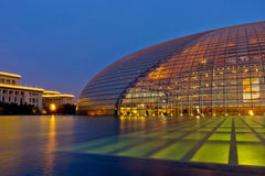 Национальный центр для исполнительских искусств Стоковое Изображение