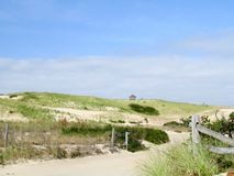 Национальный seashore на мамах трески накидки Стоковое Изображение