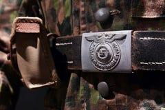 Нацистская пряжка пояса Стоковая Фотография RF