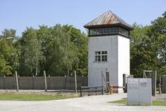 Нацистский концентрационный лагерь в Dachau, Баварии Стоковые Фотографии RF