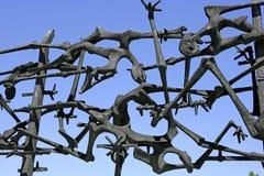 Нацистский концентрационный лагерь в Dachau, Баварии Стоковая Фотография