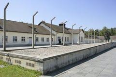 Нацистский концентрационный лагерь в Dachau, Баварии Стоковое фото RF