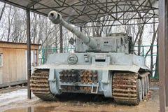 Нацистский танк в Москве (Россия) стоковые фотографии rf