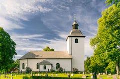 Начало церков средневековое Стоковое Изображение