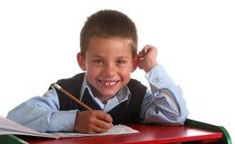начальная школа мальчика Стоковые Фото