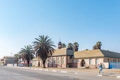 Начальная школа Namib в Swakopmund Стоковое Изображение RF