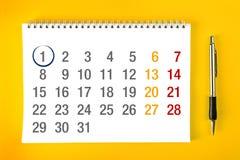 Начало месяца Стоковые Фотографии RF