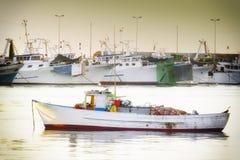 Начало новой рыбной ловли дня Стоковая Фотография