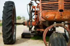 Начало трактора Стоковые Фото