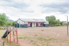Начальная школа в Wolwefontein Стоковая Фотография