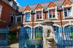 Начальная школа церков Христоса в Лондоне, Великобритании Стоковая Фотография RF