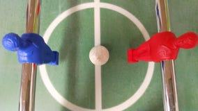 Начинать футбол таблицы съемки Стоковые Фотографии RF