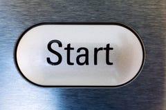 Начните кнопку Стоковое Изображение