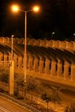 начните ноча скоростного шоссе Стоковые Изображения RF