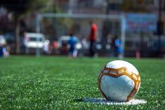 Начните пинок футбольного матча Стоковые Фотографии RF