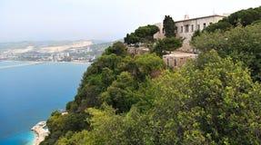 Наша дама монастыря Nouriyeh, Ливана Стоковые Изображения