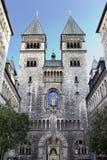 Наша дама Церковь Берлин Kreuzberg St Mary Стоковое Изображение RF