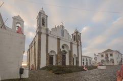 Наша дама церков лагуны, в Monsaraz Стоковое Изображение