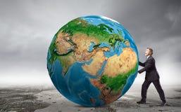 Наша планета земли стоковое изображение rf
