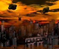Нашествие чужеземца Стоковые Изображения RF