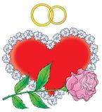 Наше венчание 013 Стоковые Изображения