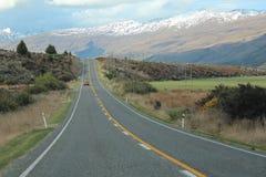 Наше путешествие автомобиля автомобильного путешествия к Новой Зеландии стоковые фото