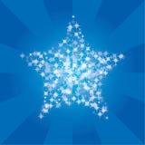 нашивка звезд Стоковое Изображение