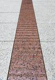 нашивка красного цвета гранита Стоковое Изображение RF