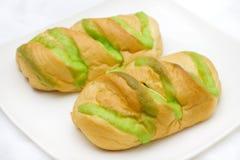 нашивка хлеба зеленая Стоковая Фотография
