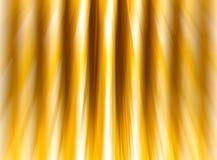 Нашивки абстрактной предпосылки золотые сияющие запачкают вертикаль скорости влияния Стоковые Изображения