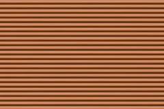 Нашивки бесконечной коричневой предпосылки горизонтальные узкие коричневые и темный цвет Стоковые Фотографии RF