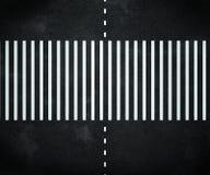 нашивки дороги асфальта Стоковое Изображение RF