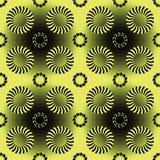 Нашивки и картина кругов Стоковое фото RF