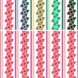 нашивки картины цветков Стоковое Фото