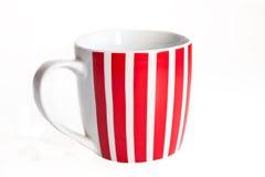 нашивки красного цвета чашки Стоковые Фотографии RF