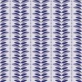 Нашивки лист делают по образцу, вручают вычерченное безшовное падение бесплатная иллюстрация