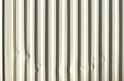 Нашивки на белых сторонах контейнера для перевозок Стоковые Изображения RF