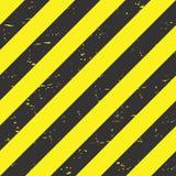 Нашивки опасности Черные и желтые линии абстрактный фон вектор бесплатная иллюстрация