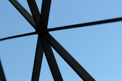 Нашивки отрезали небо Стоковая Фотография RF