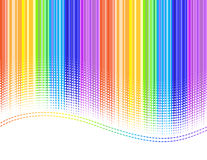 нашивки радуги Стоковые Фото