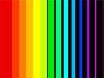 нашивки радуги Стоковое фото RF