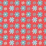 Нашивки цветка вектора предпосылка картины повторения простой безшовная иллюстрация штока