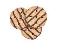 нашивки shortbread fudge печений Стоковое Изображение