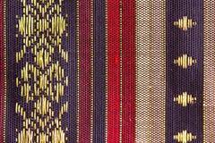 Нашивк-конструированный тайский шелк Стоковое Фото