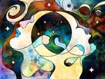 Наши вселенные Стоковые Изображения