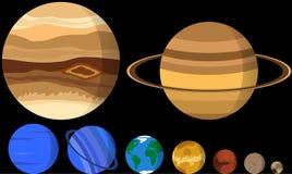 Наши планеты Стоковое Изображение RF