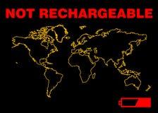 наш спасительный мир Стоковое Изображение RF
