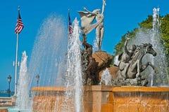 Наш фонтан корней, Сан-Хуан, Пуэрто-Рико Стоковые Фото